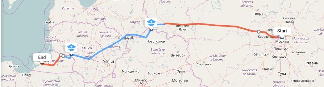 Переезд из Москвы в Калининград