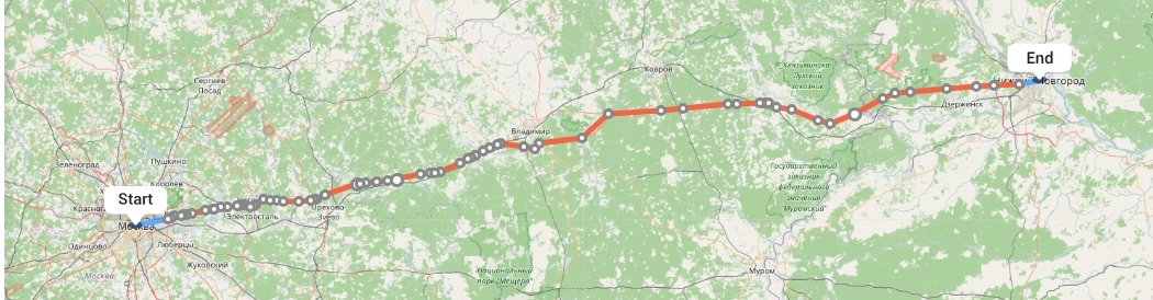 Переезд из Москвы в Нижний Новгород