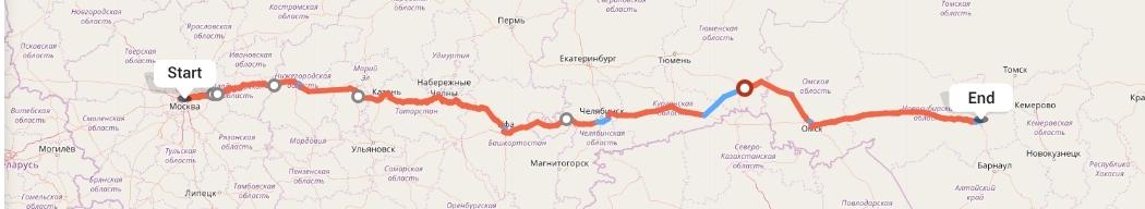 Переезд из Москвы в Новосибирск
