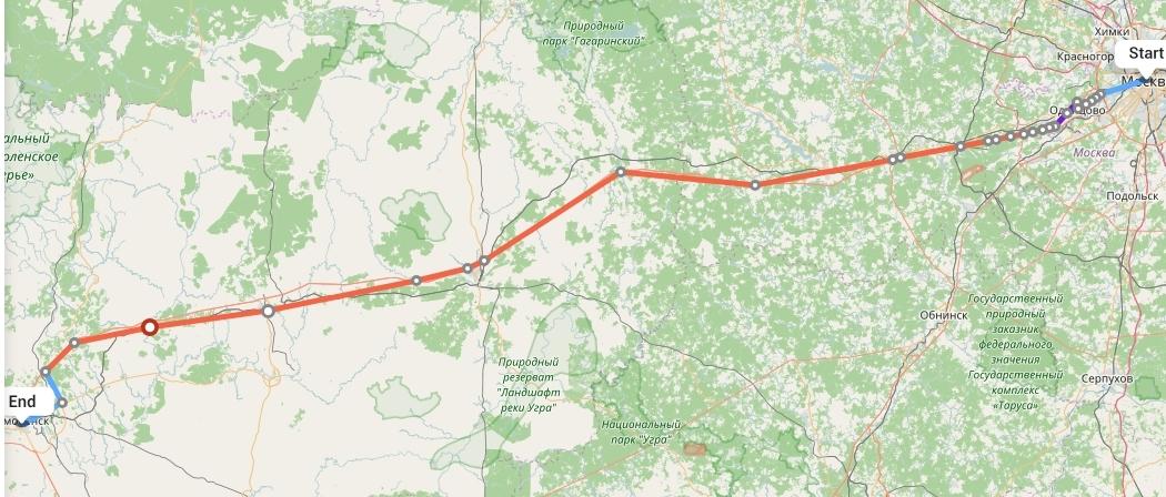 Переезд из Москвы в Смоленск