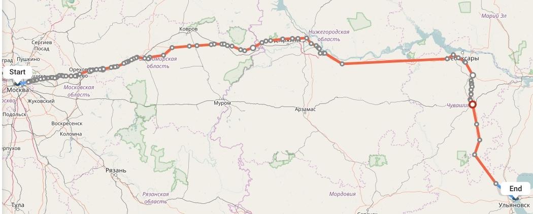 Переезд из Москвы в Ульяновск