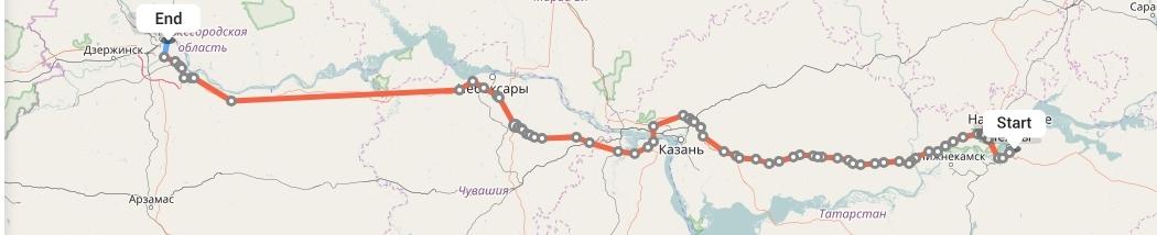 Переезд из Набережных Челнов в Нижний Новгород