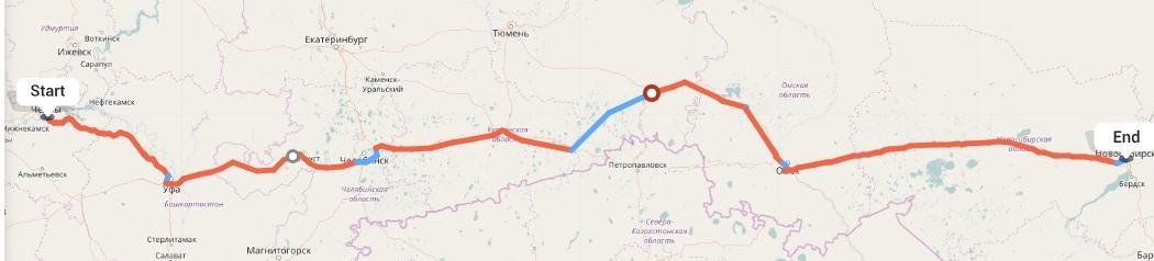 Переезд из Набережных Челнов в Новосибирск