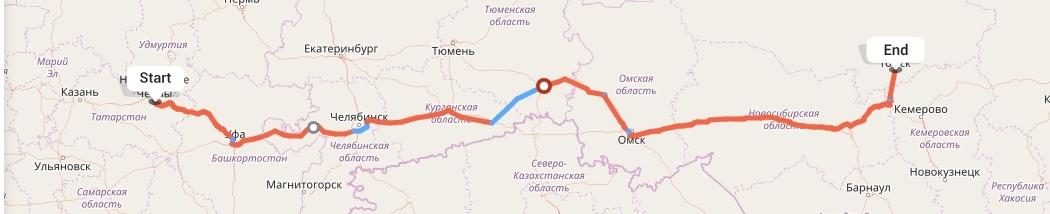 Переезд из Набережных Челнов в Томск