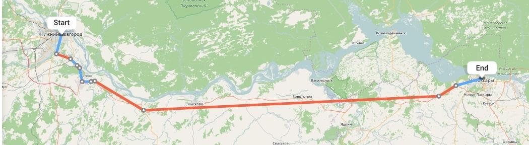 Переезд из Нижнего Новгорода в Чебоксары