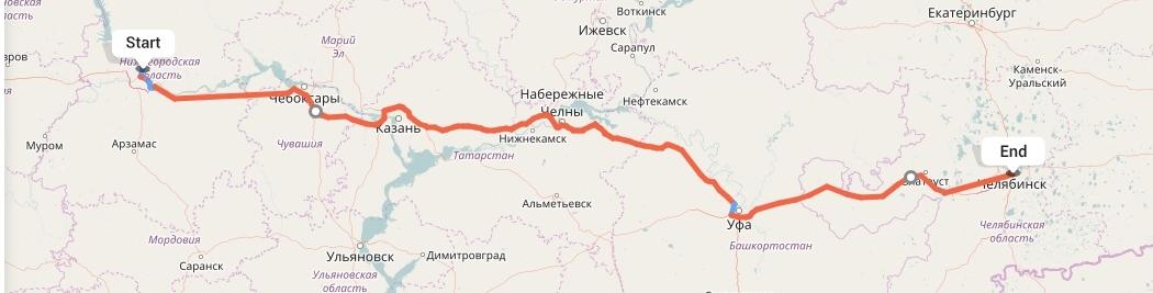 Переезд из Нижнего Новгорода в Челябинск