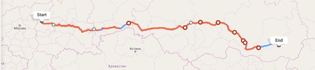 Переезд из Нижнего Новгорода в Читу