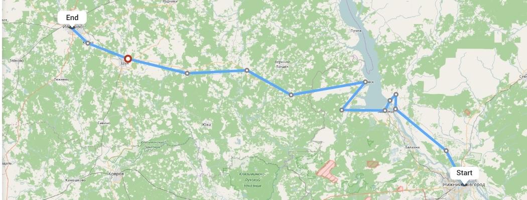 Переезд из Нижнего Новгорода в Иваново