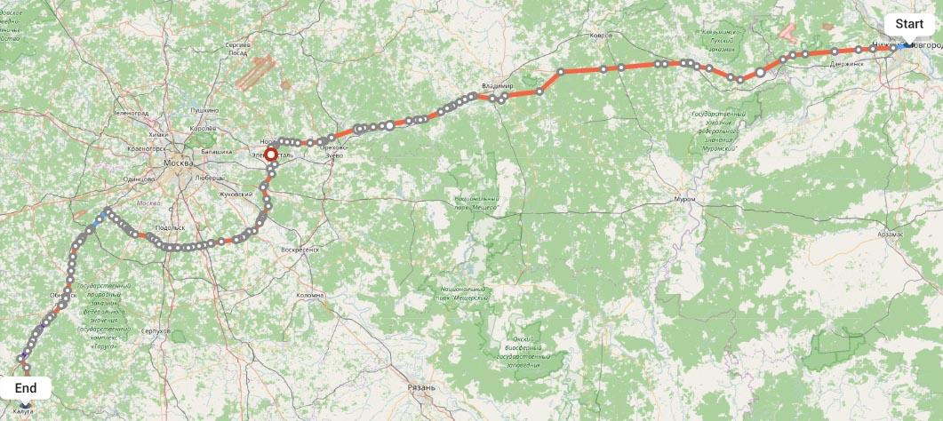 Переезд из Нижнего Новгорода в Калугу