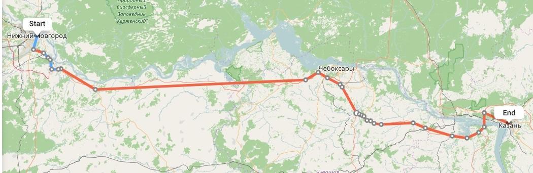 Переезд из Нижнего Новгорода в Казань