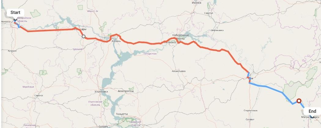 Переезд из Нижнего Новгорода в Магнитогорск