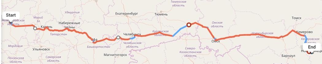 Переезд из Нижнего Новгорода в Новокузнецк