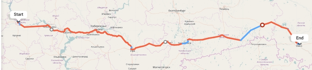 Переезд из Нижнего Новгорода в Омск