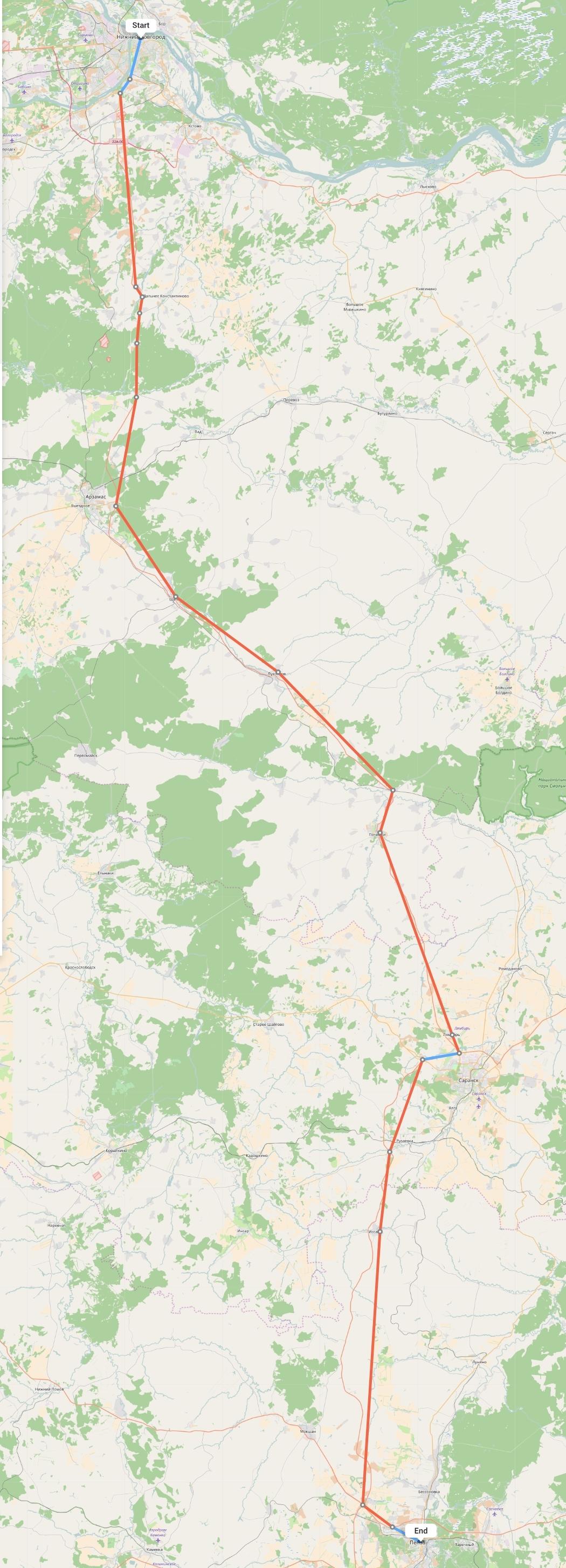 Переезд из Нижнего Новгорода в Пензу