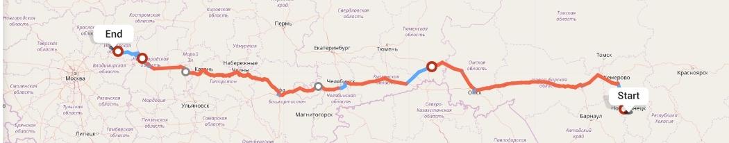 Переезд из Новокузнецка в Иваново