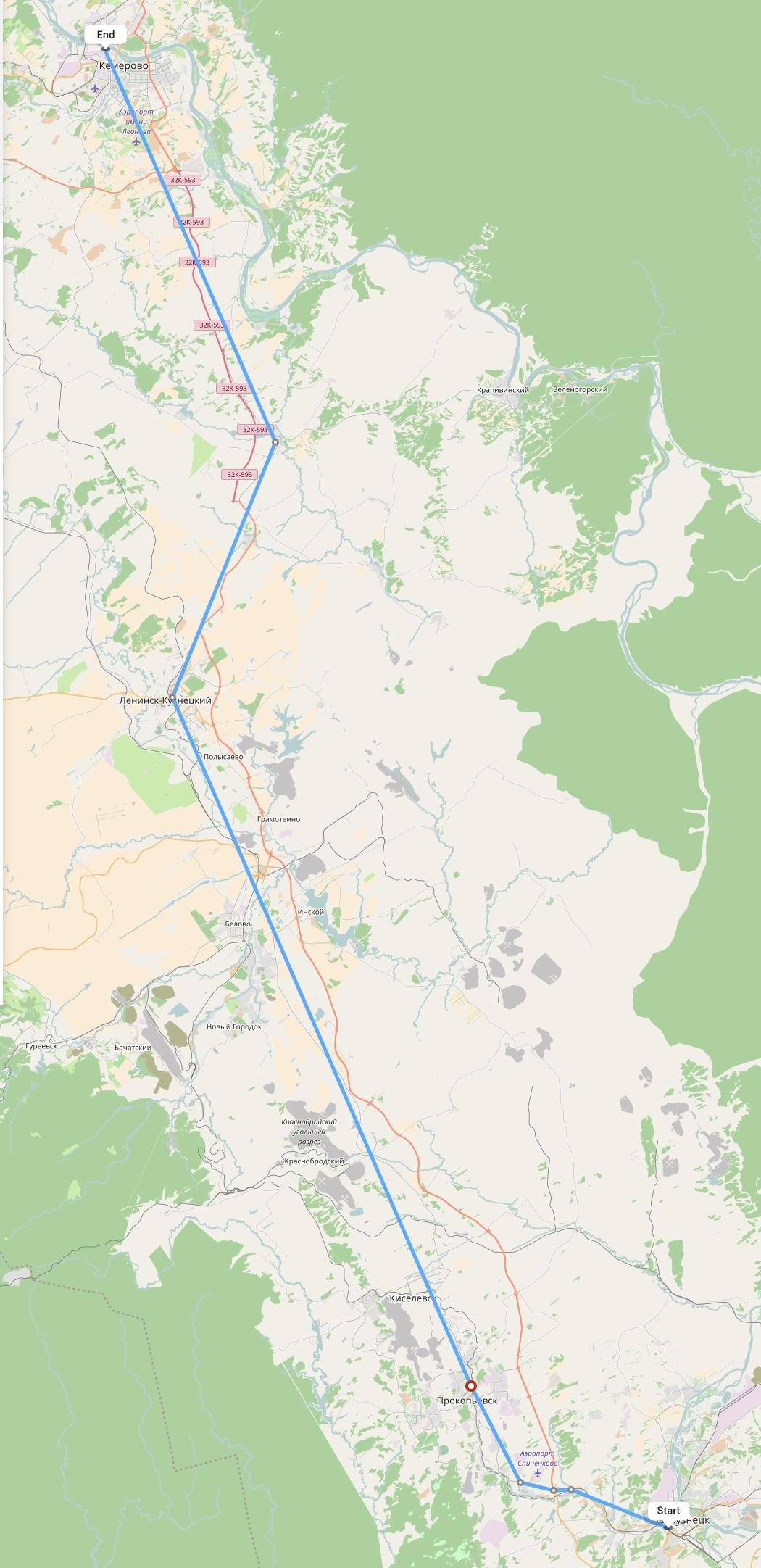Переезд из Новокузнецка в Кемерово