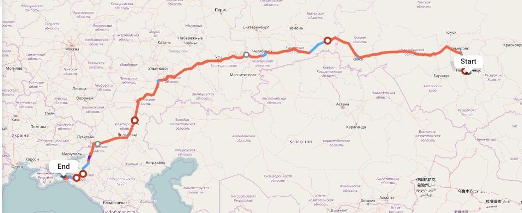 Переезд из Новокузнецка в Керчь