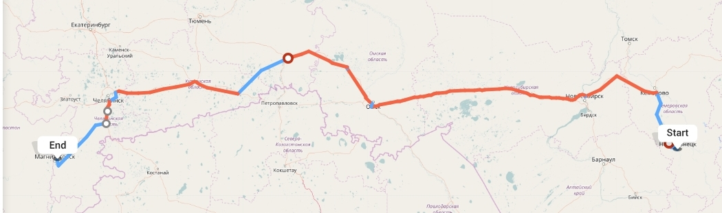 Переезд из Новокузнецка в Магнитогорск