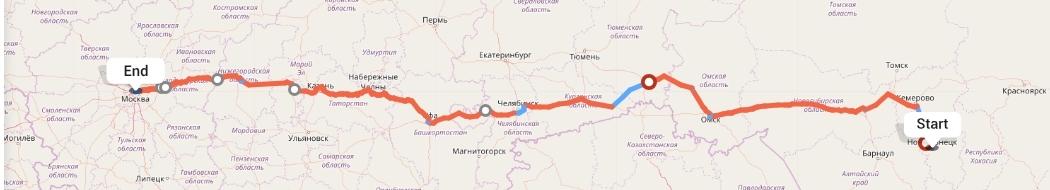 Переезд из Новокузнецка в Москву