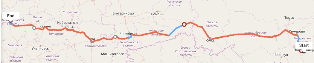 Переезд из Новокузнецка в Нижний Новгород