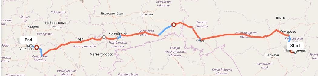 Переезд из Новокузнецка в Ульяновск