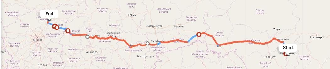 Переезд из Новокузнецка в Ярославль