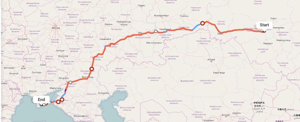 Переезд из Новосибирска в Алушту