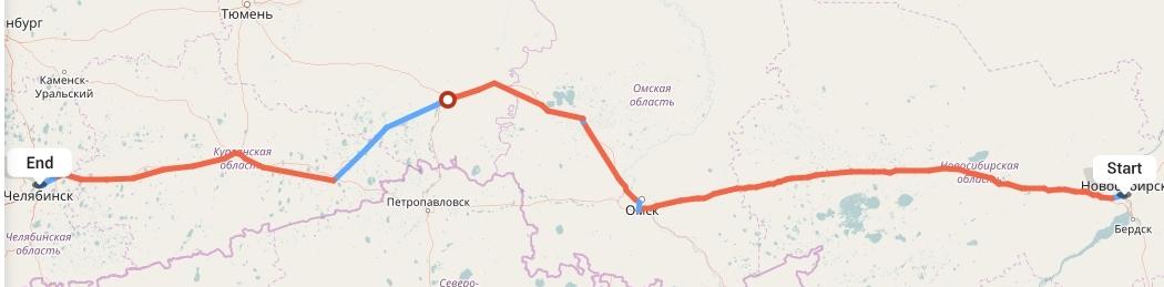 Переезд из Новосибирска в Челябинск