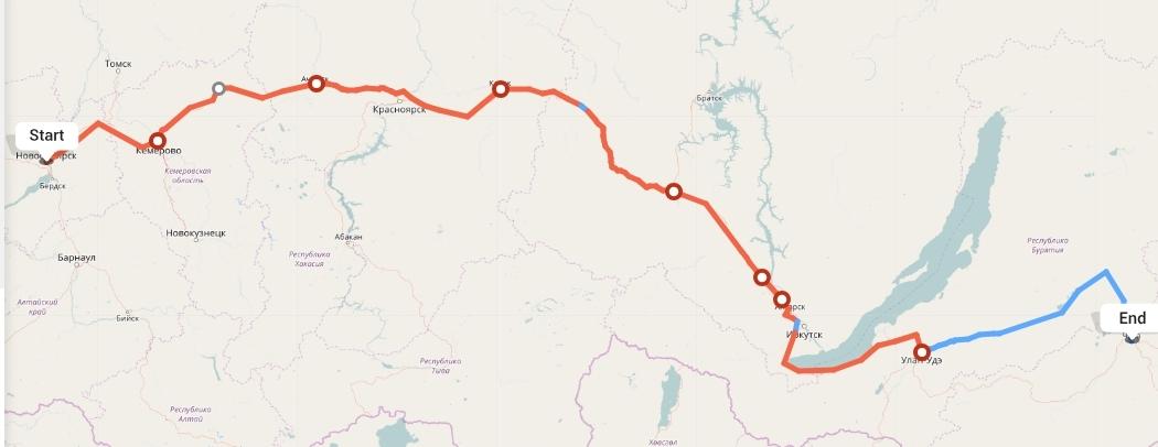 Переезд из Новосибирска в Читу