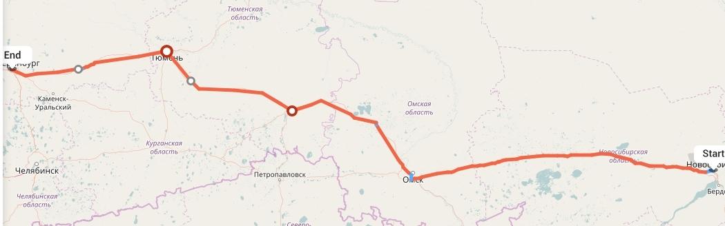 Переезд из Новосибирска в Екатеринбург