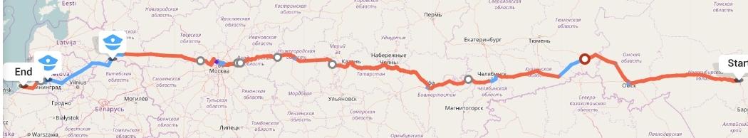 Переезд из Новосибирска в Калининград