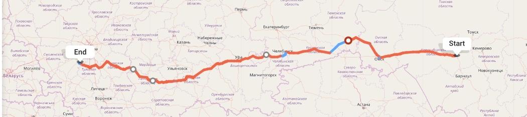 Переезд из Новосибирска в Калугу