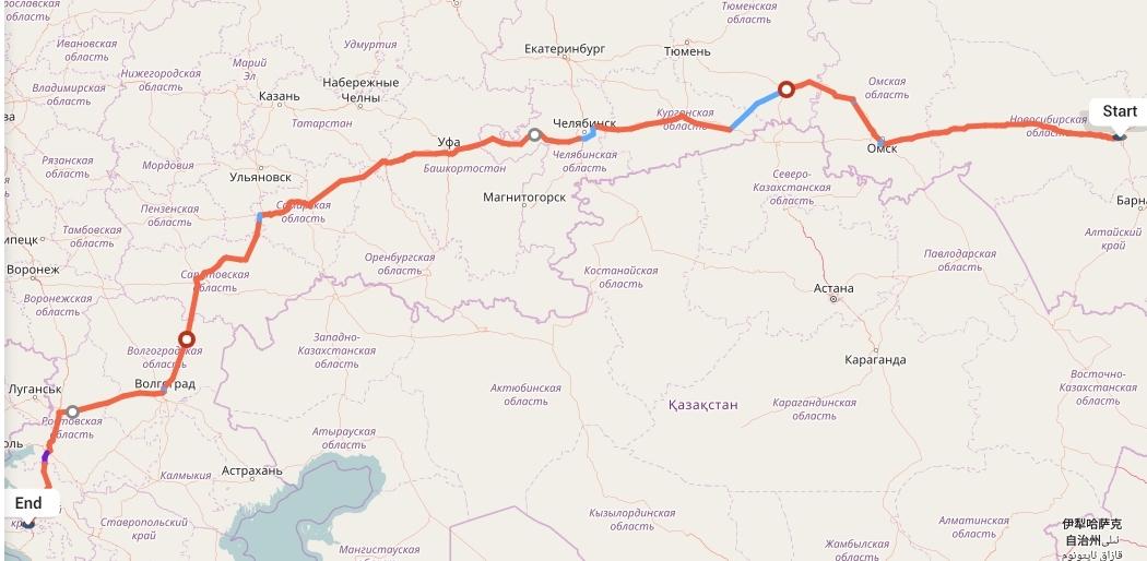 Переезд из Новосибирска в Краснодар