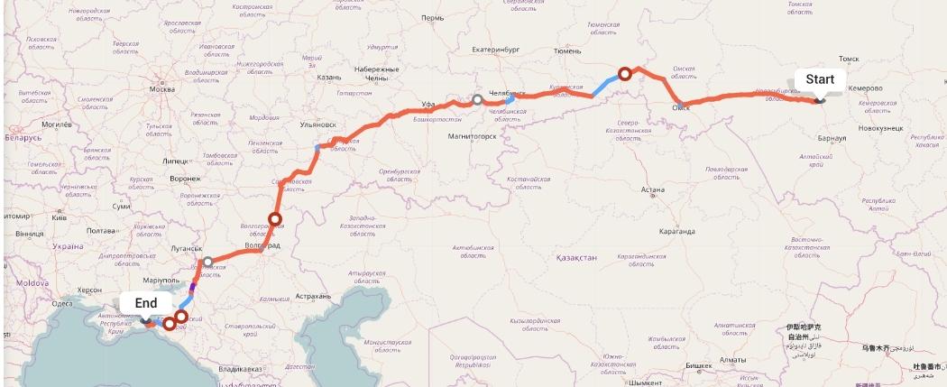 Переезд из Новосибирска в Крым