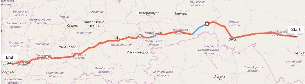 Переезд из Новосибирска в Липецк