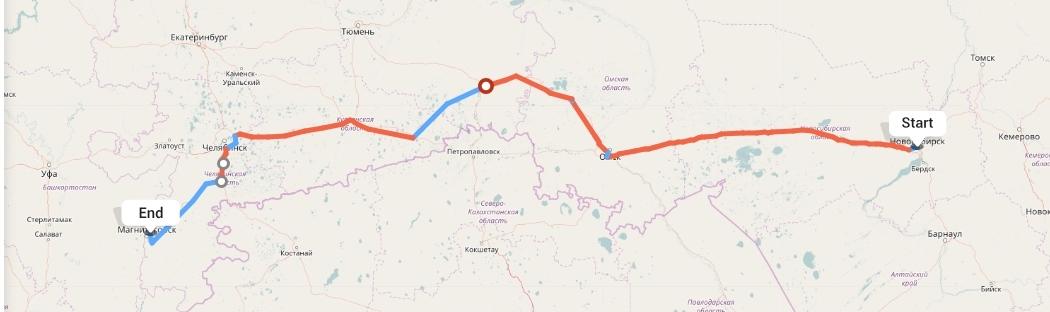 Переезд из Новосибирска в Магнитогорск