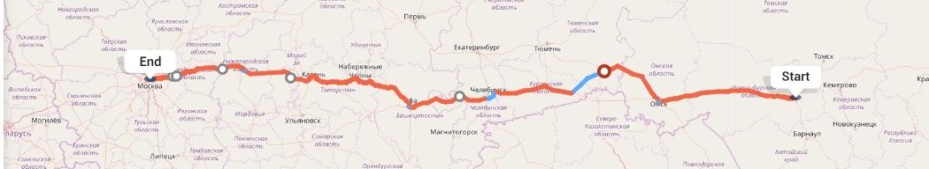 Переезд из Новосибирска в Москву