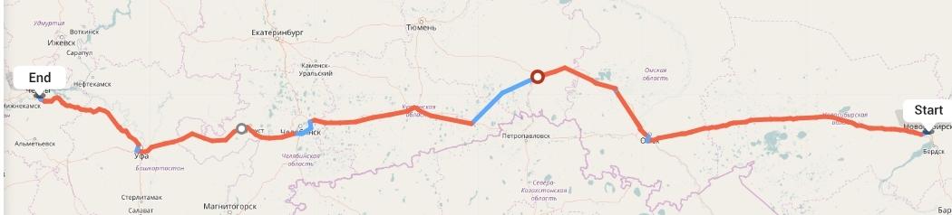 Переезд из Новосибирска в Набережные Челны