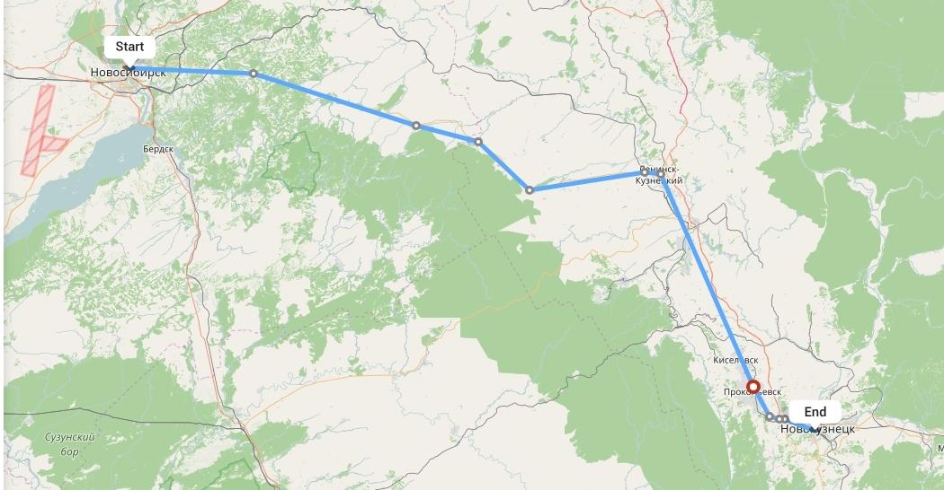 Переезд из Новосибирска в Новокузнецк