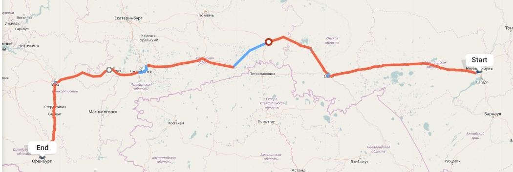 Переезд из Новосибирска в Оренбург