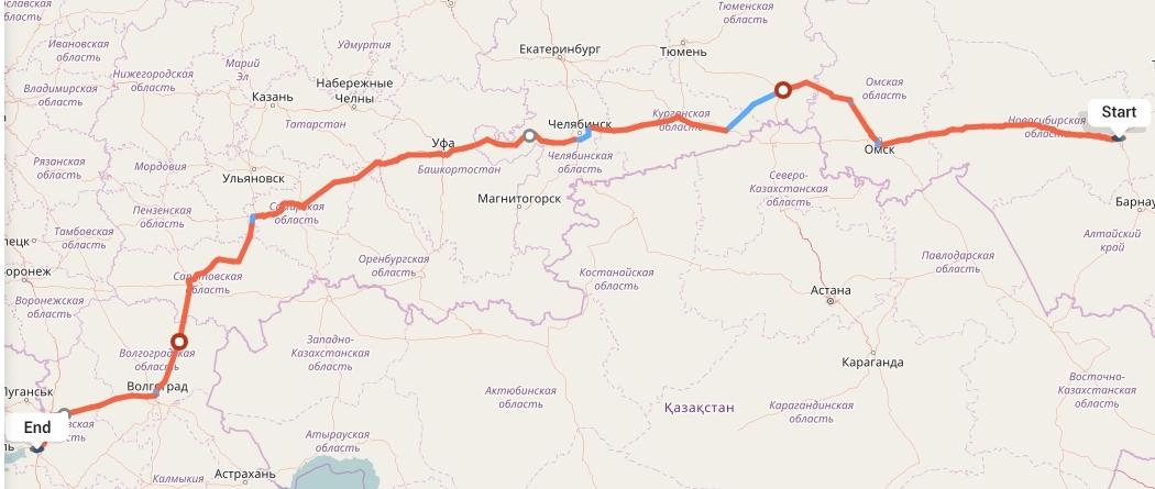 Переезд из Новосибирска в Ростов-на-Дону