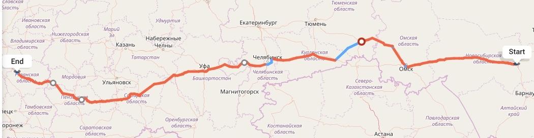 Переезд из Новосибирска в Рязань