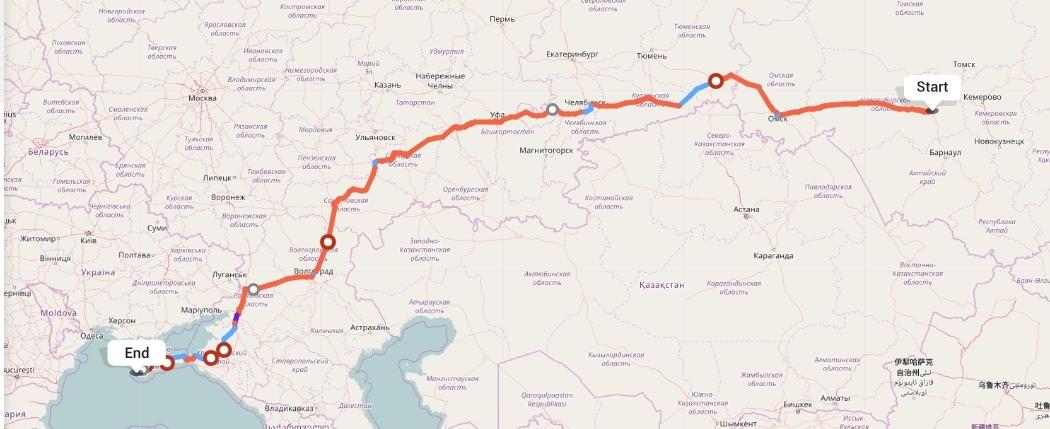 Переезд из Новосибирска в Севастополь