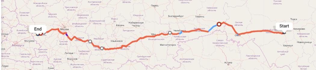 Переезд из Новосибирска в Смоленск