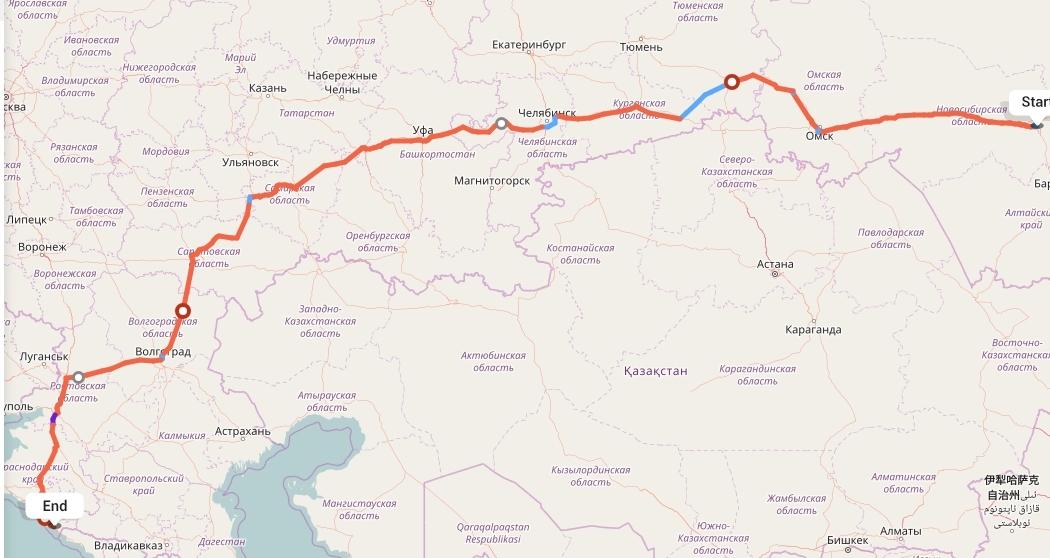 Переезд из Новосибирска в Сочи