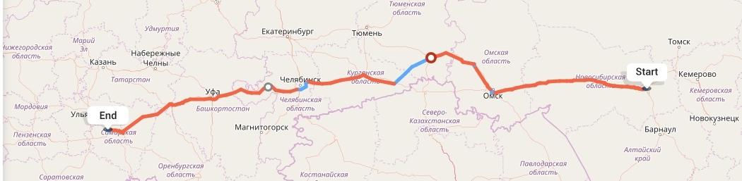 Переезд из Новосибирска в Тольятти