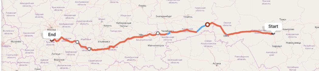 Переезд из Новосибирска в Тулу