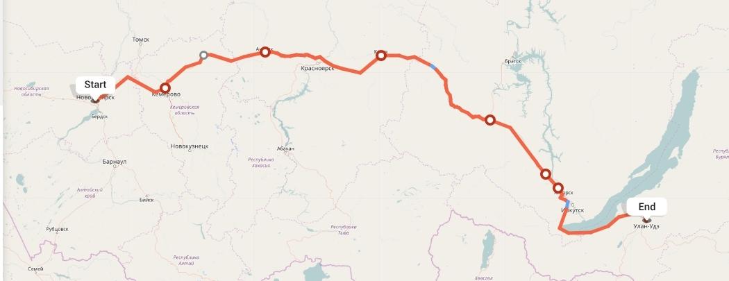 Переезд из Новосибирска в Улан-Удэ