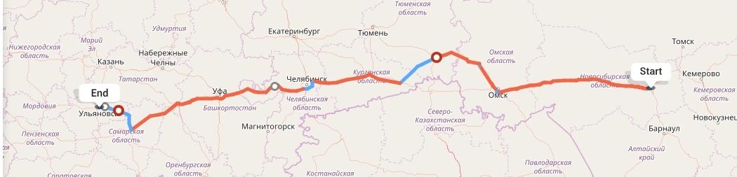 Переезд из Новосибирска в Ульяновск