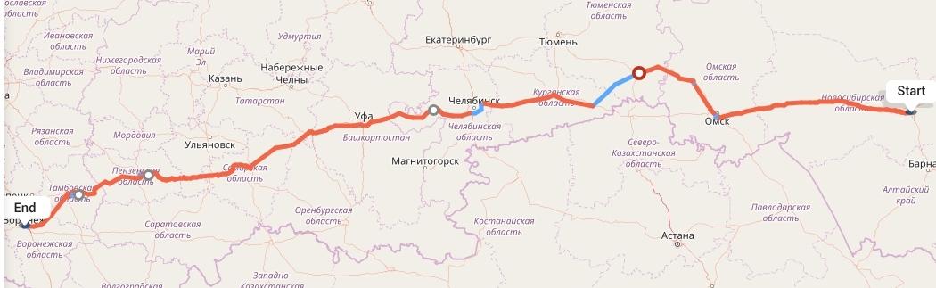 Переезд из Новосибирска в Воронеж